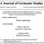 World Authorship