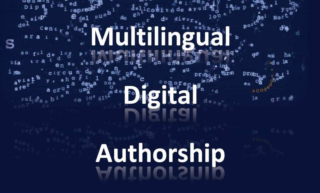 Multilingual Digital Authorship (Symposium Report)